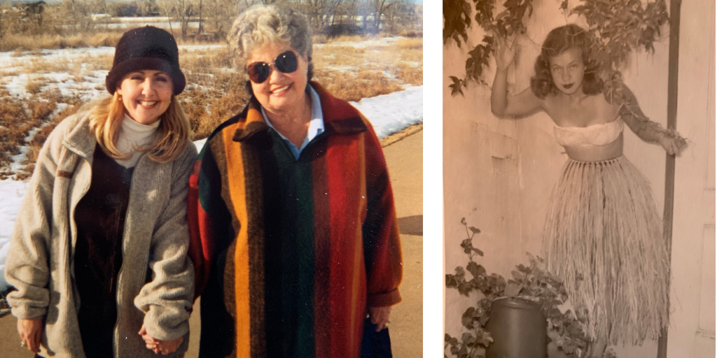 Mary Jane Schreck Gina Schreck Lessons Learned from Grandma