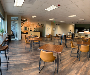 cafe for meetings coworking for women in Denver