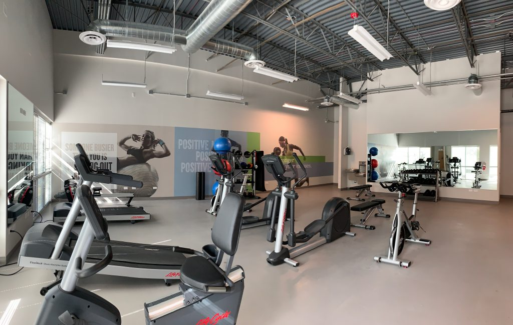 coworking space with fitness center in Centennial