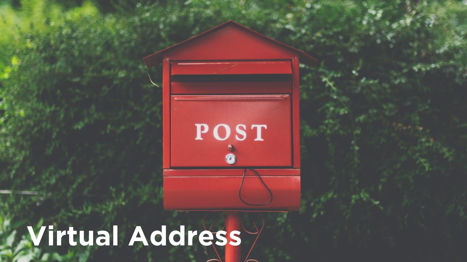 Virtual Mailbox business address